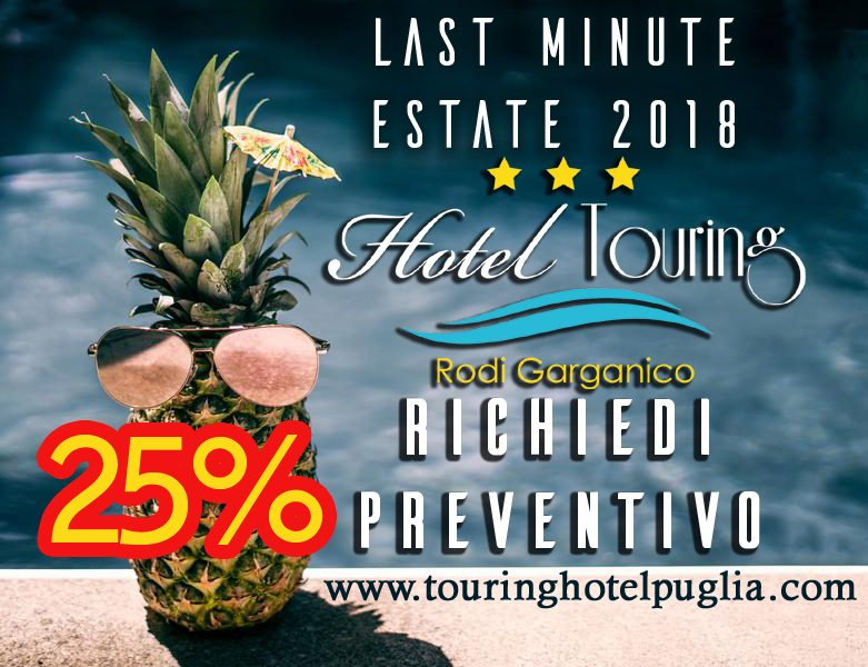 Hotel gargano offerte last minute vacanze rodi garganico for Week end last minute